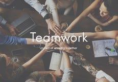 Teamwork Alliance Collaboration Company Team Concept Stock Photo