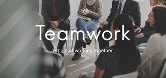 Teamwork Alliance Collaboration Company Team Concept Stock Images