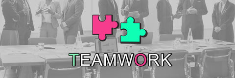 Teamwork Alliance Collaboration Connection Concept Royalty Free Stock Images