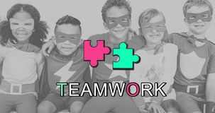 Teamwork Alliance Collaboration Connection Concept Royalty Free Stock Photo