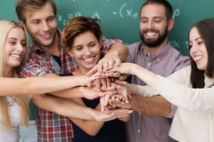 Free Teamwork And Collaboration Amongst Students Stock Photography - 33602332