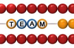 Teamwork as a metaphor Royalty Free Stock Photo