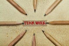 Teamwork B Arkivbild