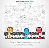 Teamwork Brainstorming communication concept art Stock Photography