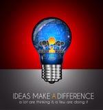 Teamwork-Brainstormingkommunikations-Konzeptkunst Lizenzfreies Stockfoto