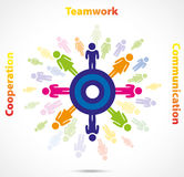 Teamwork busines concept Stock Images
