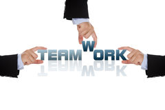 Teamwork business concept Royalty Free Stock Photo