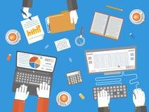 Teamwork business concept Stock Photos