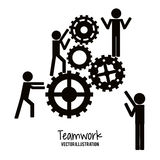 Teamwork and business design Royalty Free Stock Images