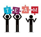 Teamwork and business design Stock Photos