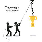 Teamwork and business design Royalty Free Stock Photo