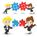Teamwork Royalty Free Stock Photo