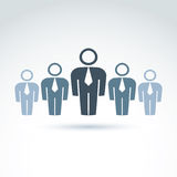 Teamwork and business team and friendship icon Stock Images