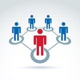 Teamwork and business team and friendship icon Royalty Free Stock Image