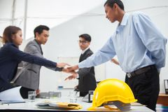 Business concept. Team work. Royalty Free Stock Images