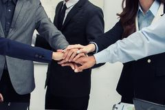 Business concept. Team work. Royalty Free Stock Photo