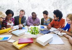 Teamwork Casual Discussion Brainstorming Learning Concept Stock Image