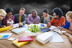 Teamwork Casual Discussion Brainstorming Learning Concept Royalty Free Stock Photos