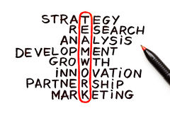 Teamwork Chart. The word Teamwork highlighted with red pen in a handwritten chart Stock Image