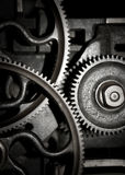 Teamwork - Cogs in a machine. Cog and wheel details from machines of the industrial revolution Royalty Free Stock Image
