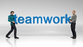 Teamwork Colaboration Stockfotografie