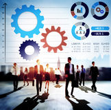 Teamwork Collaboration Strategy Business Marketing Concept Royalty Free Stock Image