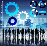 Teamwork Collaboration Strategy Business Marketing Concept Royalty Free Stock Photography