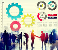 Teamwork Collaboration Strategy Business Marketing Concept Stock Image