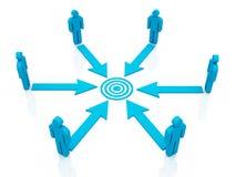 Teamwork communication Royalty Free Stock Photos