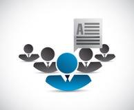 Teamwork communication concept Royalty Free Stock Photo