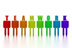 Teamwork concept Stock Photos