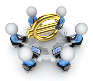 Teamwork concept. Stock Image