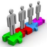 teamwork Concept Image stock
