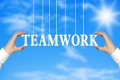 Teamwork concept Stock Photos