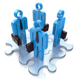 Teamwork Concept royalty free stock photography