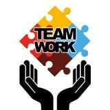 Teamwork concept design Royalty Free Stock Photos