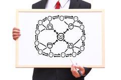 Teamwork concept Stock Image