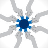 Teamwork concept Royalty Free Stock Image