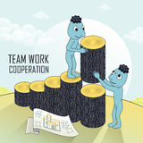 Teamwork concept Royalty Free Stock Image