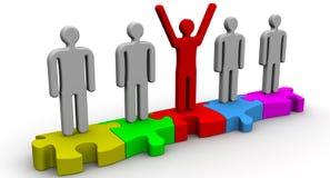 Teamwork. Concept Royalty Free Stock Image