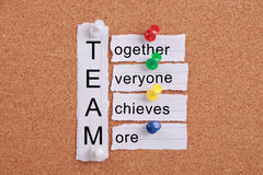 Teamwork concept Royalty Free Stock Photo