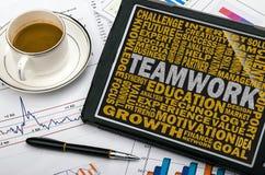 Teamwork concept royalty free stock photo
