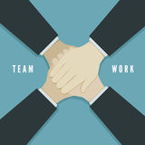 Teamwork concept vector illustration Stock Images