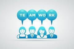 Teamwork concept Stock Photography