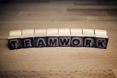 Teamwork concept view stock photo