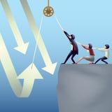 teamwork concetto di affari Immagini Stock