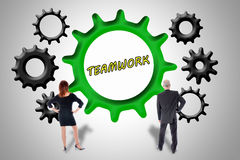Teamwork and contribution concept Royalty Free Stock Photos