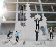 Teamwork cooperates Royalty Free Stock Photos