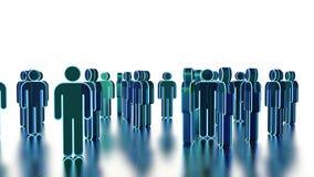 Teamwork,  3d illustration. Team work, conceptual 3d illustration Royalty Free Stock Photography