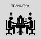 Teamwork-Design Lizenzfreie Stockfotos